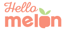 Hello Melon Logo